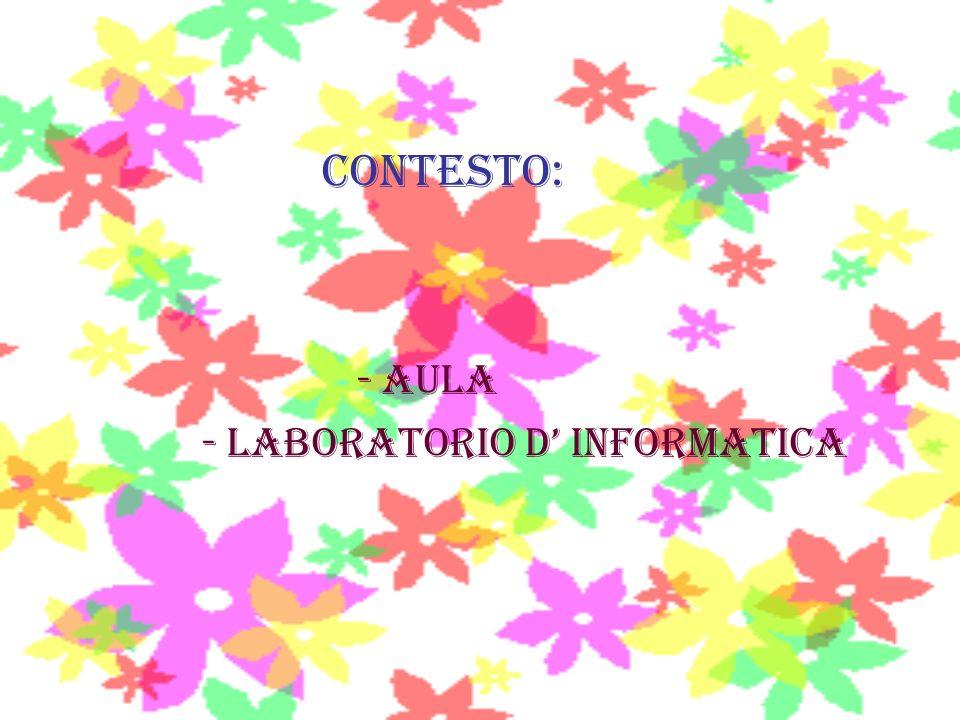 - laboratorio D' INFORMATICA