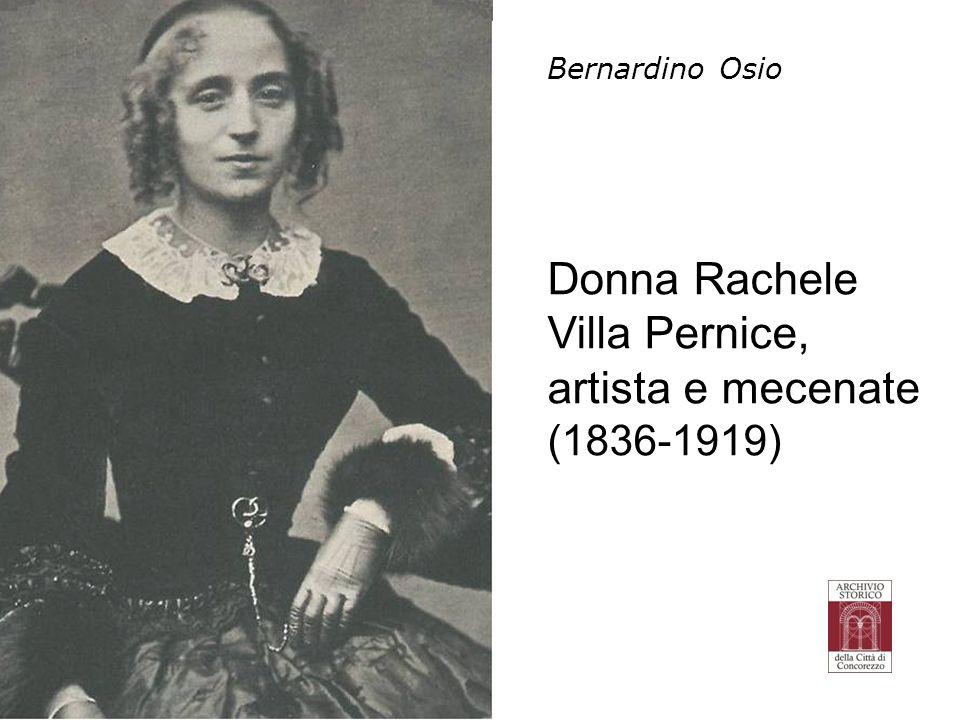Donna Rachele Villa Pernice, artista e mecenate (1836-1919)