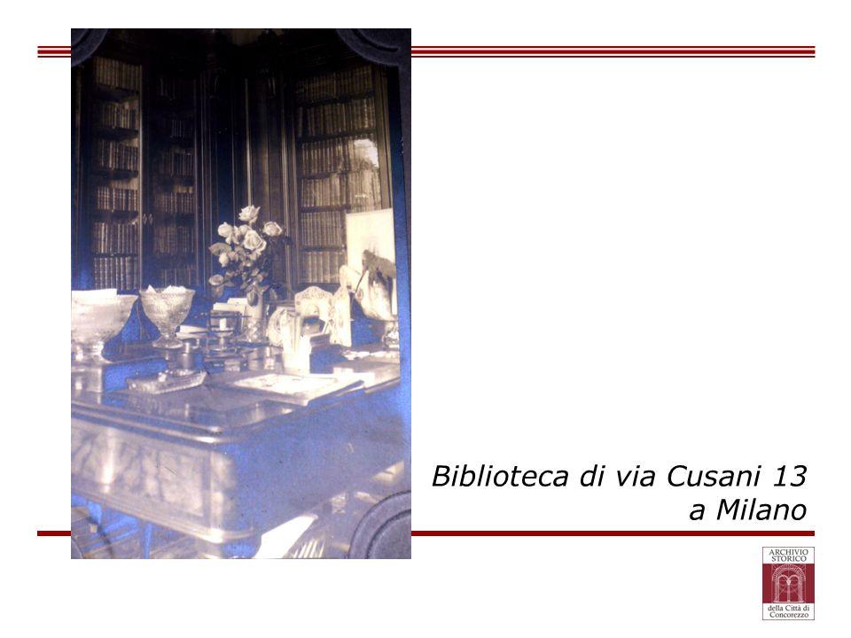 Biblioteca di via Cusani 13 a Milano