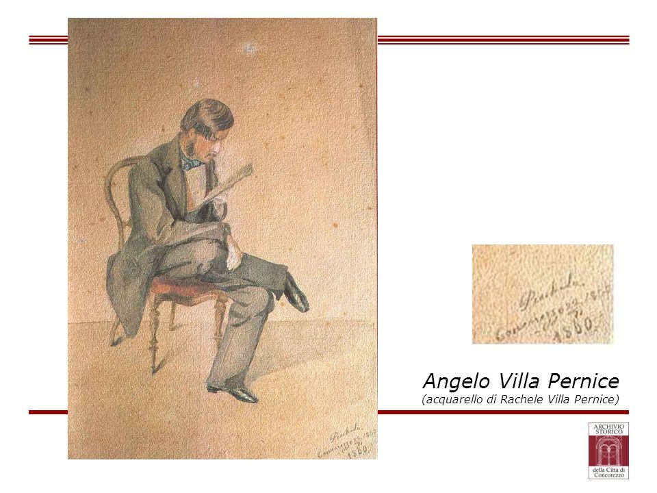 Angelo Villa Pernice (acquarello di Rachele Villa Pernice)