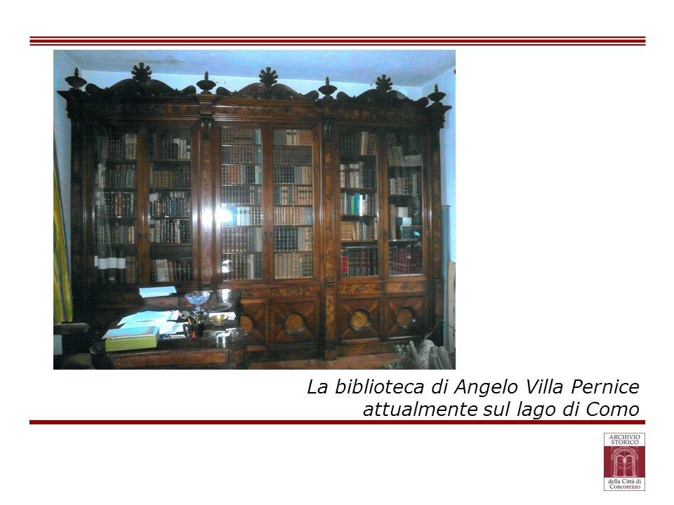 La biblioteca di Angelo Villa Pernice