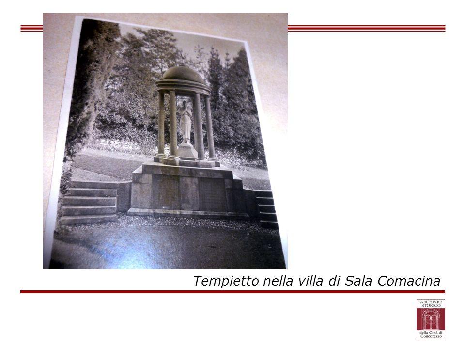 Tempietto nella villa di Sala Comacina