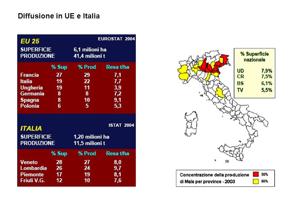 Diffusione in UE e Italia
