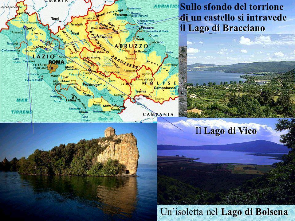 I laghi di origine vulcanica in Italia