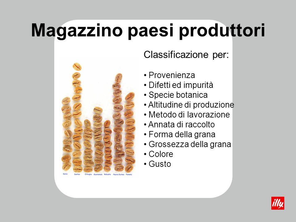 Magazzino paesi produttori