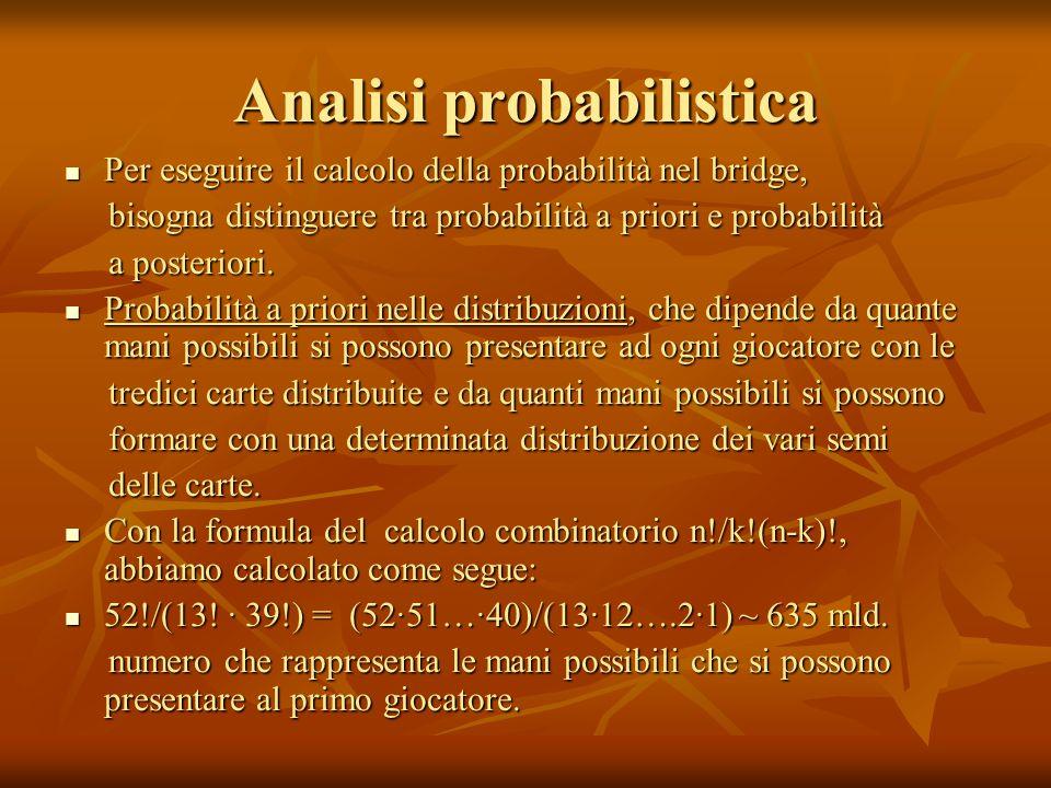 Analisi probabilistica