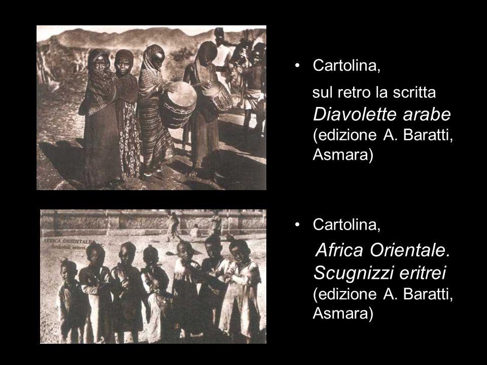 Africa Orientale. Scugnizzi eritrei (edizione A. Baratti, Asmara)