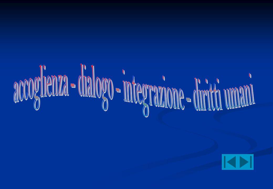 accoglienza - dialogo - integrazione - diritti umani