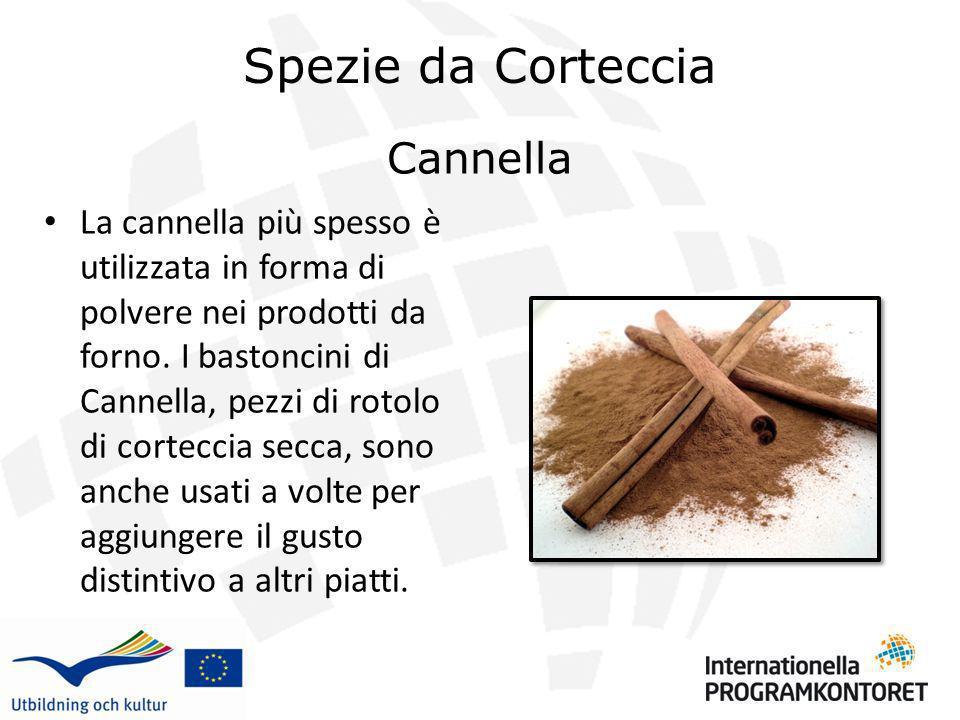 Spezie da Corteccia Cannella