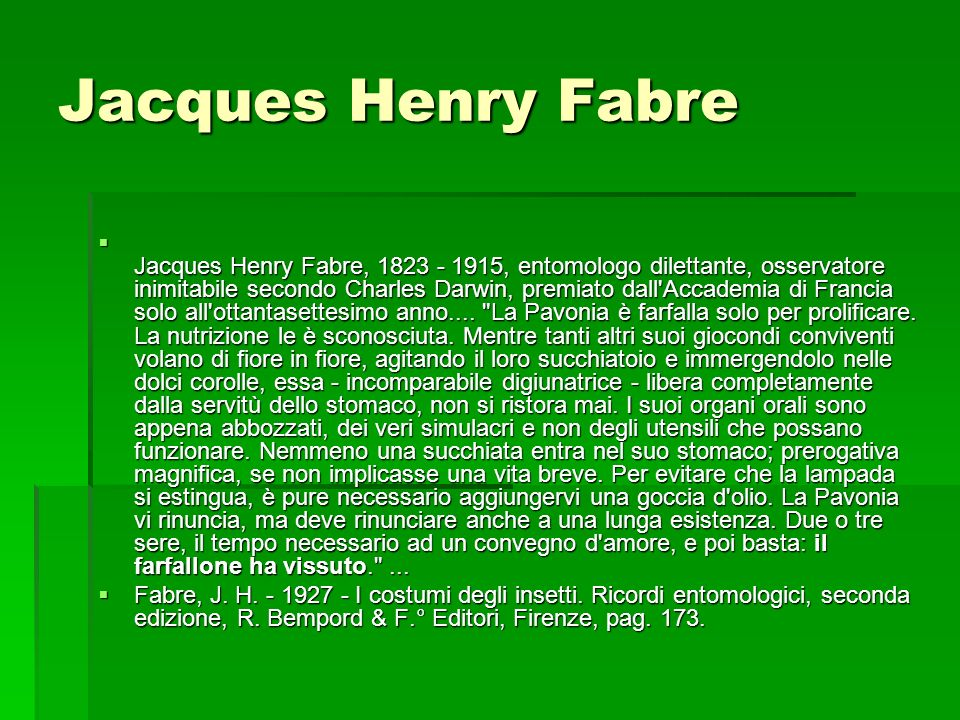Jacques Henry Fabre