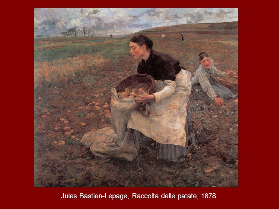Jules Bastien-Lepage, Raccolta delle patate, 1878