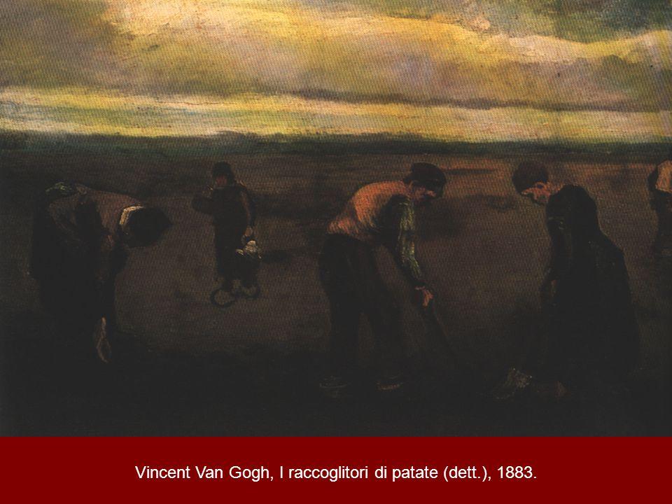 Vincent Van Gogh, I raccoglitori di patate (dett.), 1883.