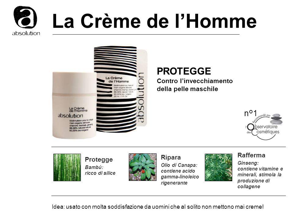 La Crème de l'Homme PROTEGGE n°1