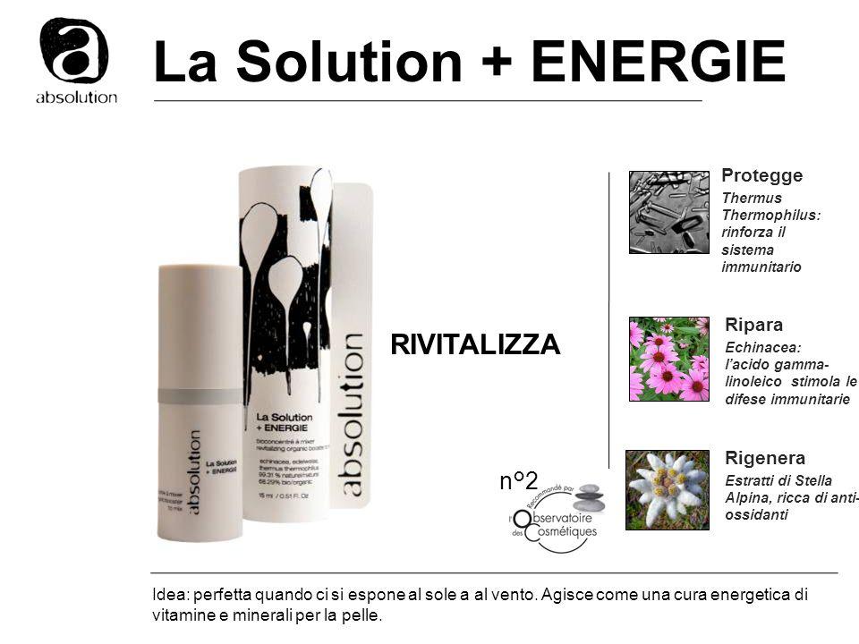 La Solution + ENERGIE RIVITALIZZA n°2 Protegge Ripara Rigenera