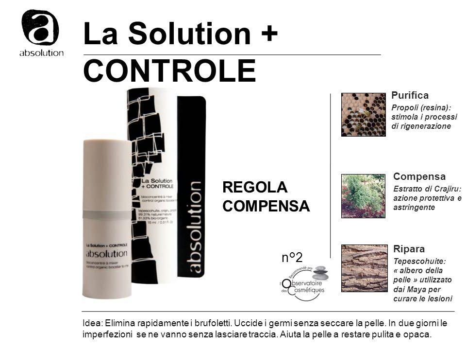 La Solution + CONTROLE REGOLA COMPENSA n°2 Purifica Compensa Ripara