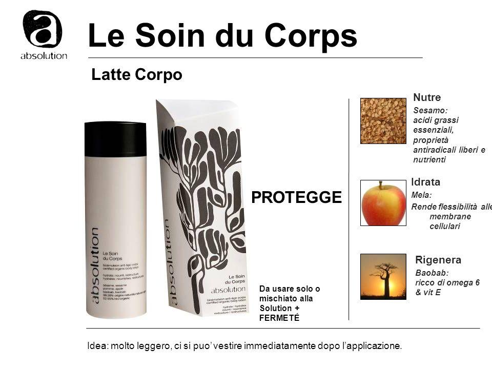 Le Soin du Corps Latte Corpo PROTEGGE Nutre Idrata Rigenera