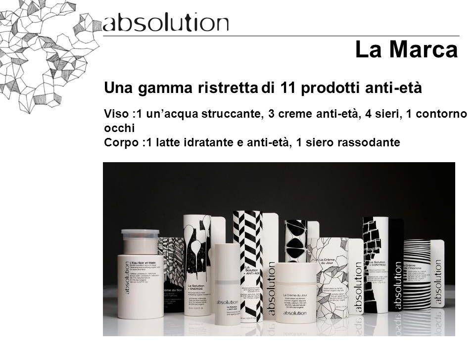 La Marca Una gamma ristretta di 11 prodotti anti-età