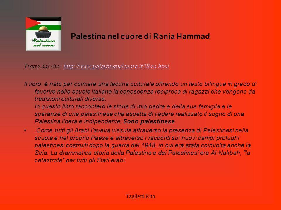 Palestina nel cuore di Rania Hammad