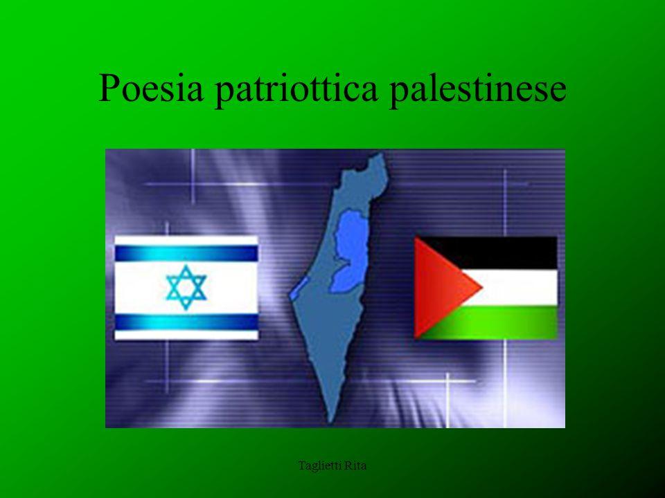Poesia patriottica palestinese