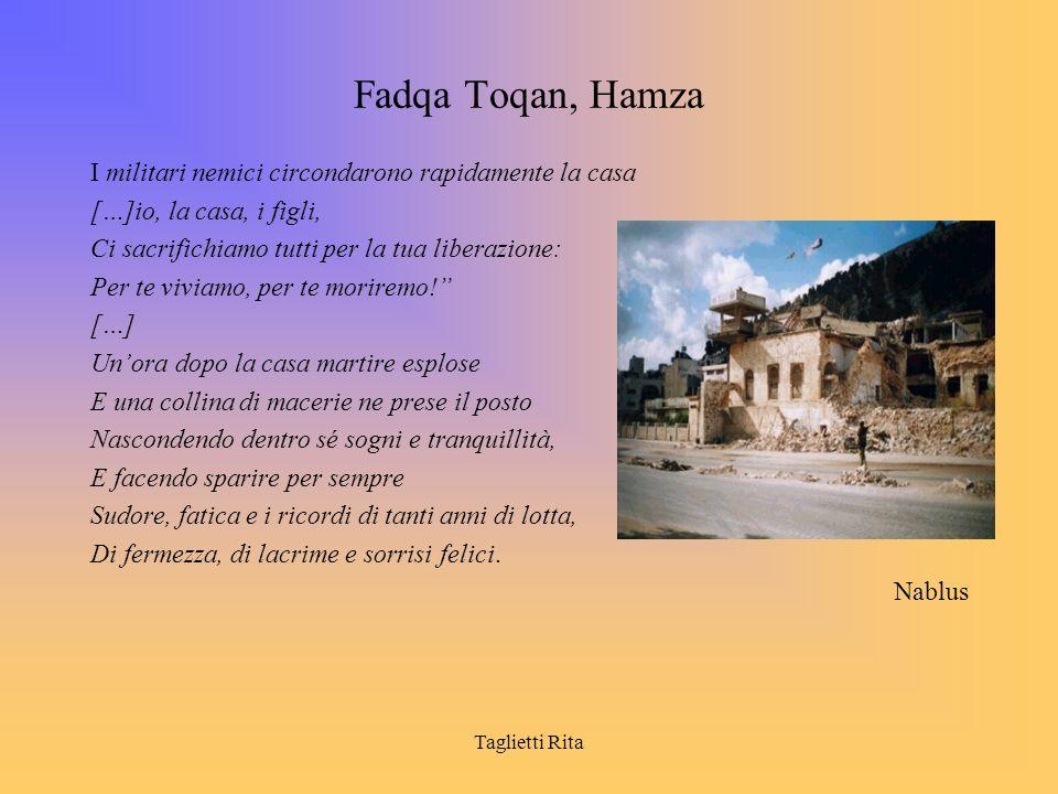 Fadqa Toqan, Hamza I militari nemici circondarono rapidamente la casa