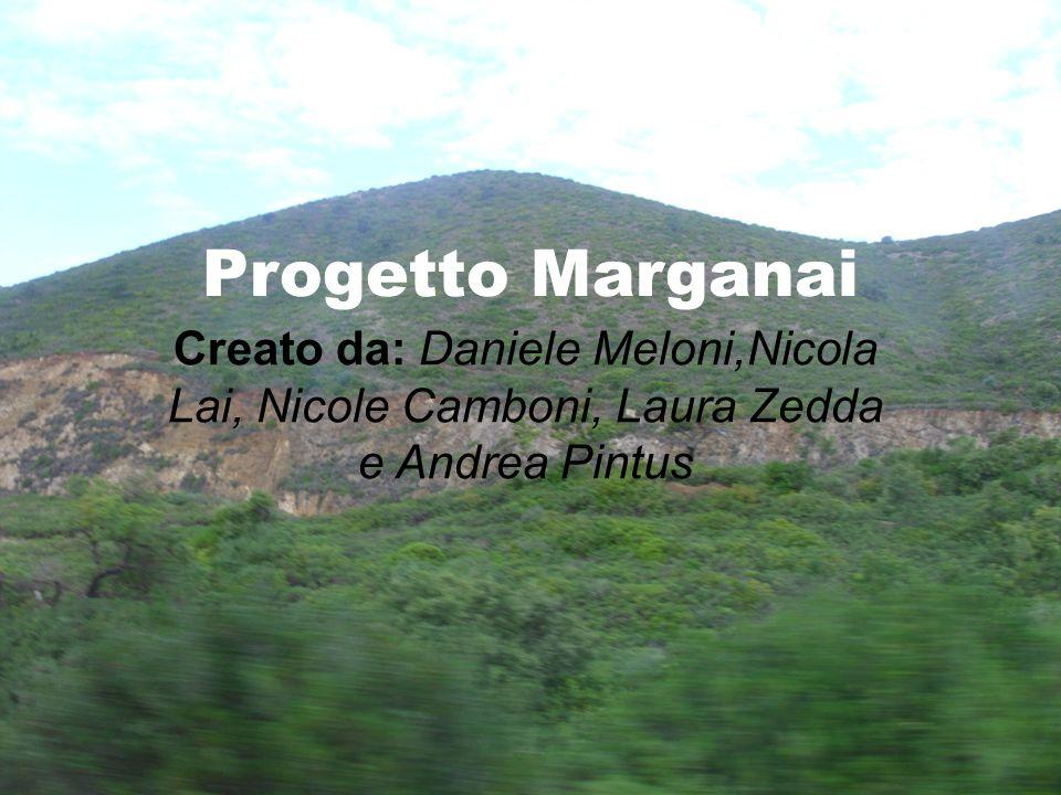 Progetto Marganai Creato da: Daniele Meloni,Nicola Lai, Nicole Camboni, Laura Zedda e Andrea Pintus