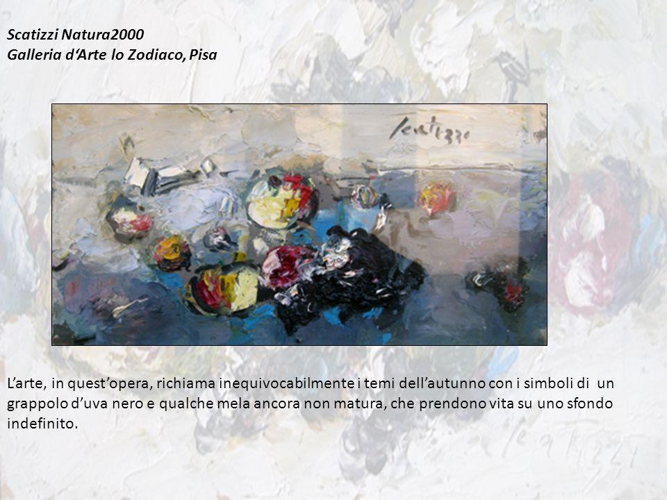 Scatizzi Natura2000 Galleria d'Arte lo Zodiaco, Pisa.