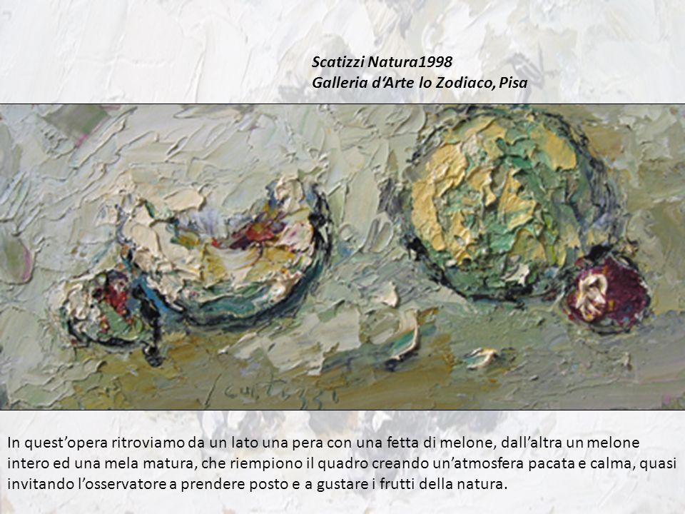 Scatizzi Natura1998 Galleria d'Arte lo Zodiaco, Pisa.