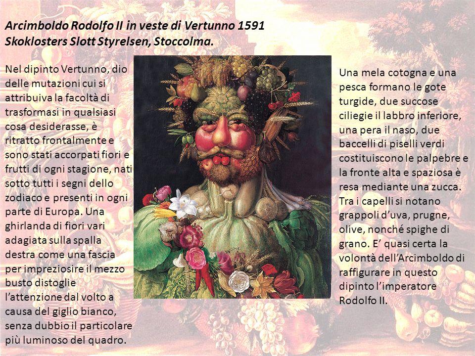 Arcimboldo Rodolfo II in veste di Vertunno 1591