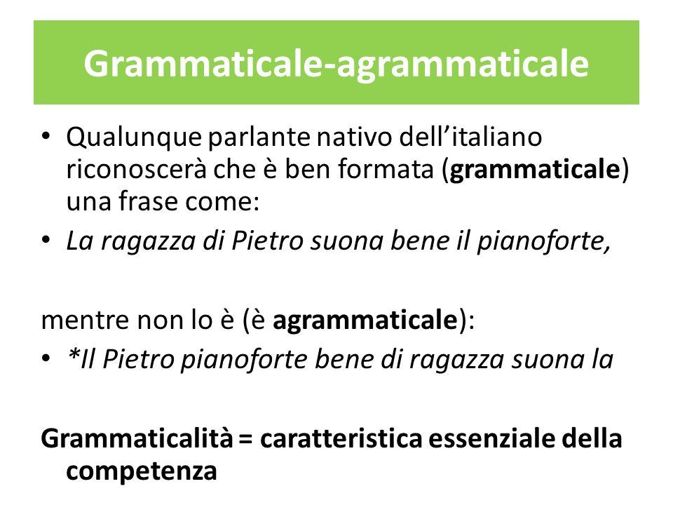 Grammaticale-agrammaticale