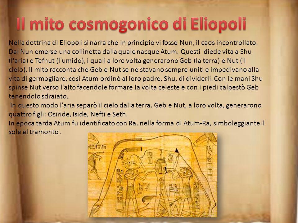 Il mito cosmogonico di Eliopoli