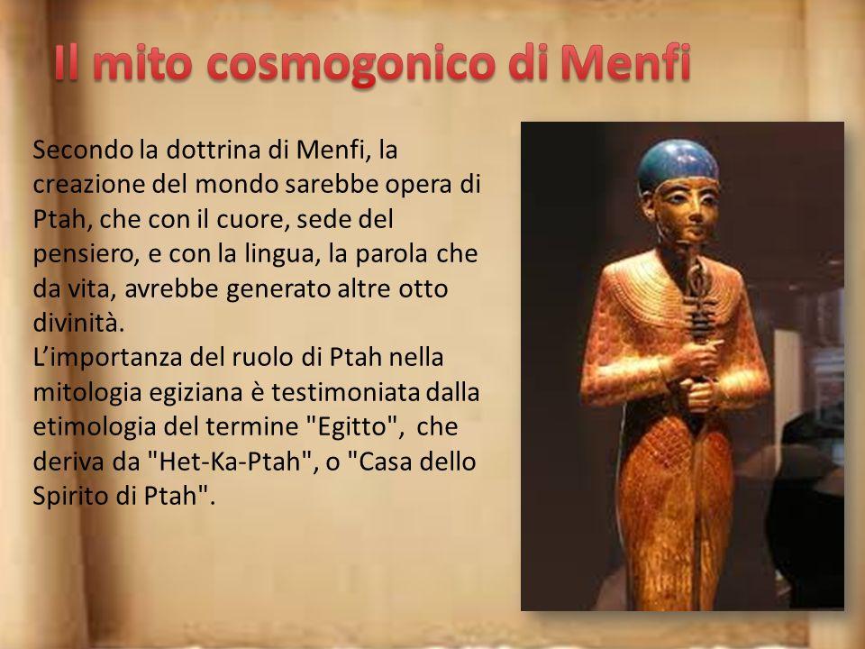 Il mito cosmogonico di Menfi