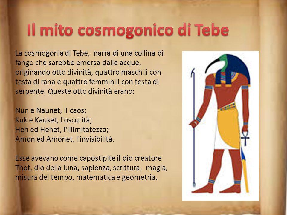 Il mito cosmogonico di Tebe