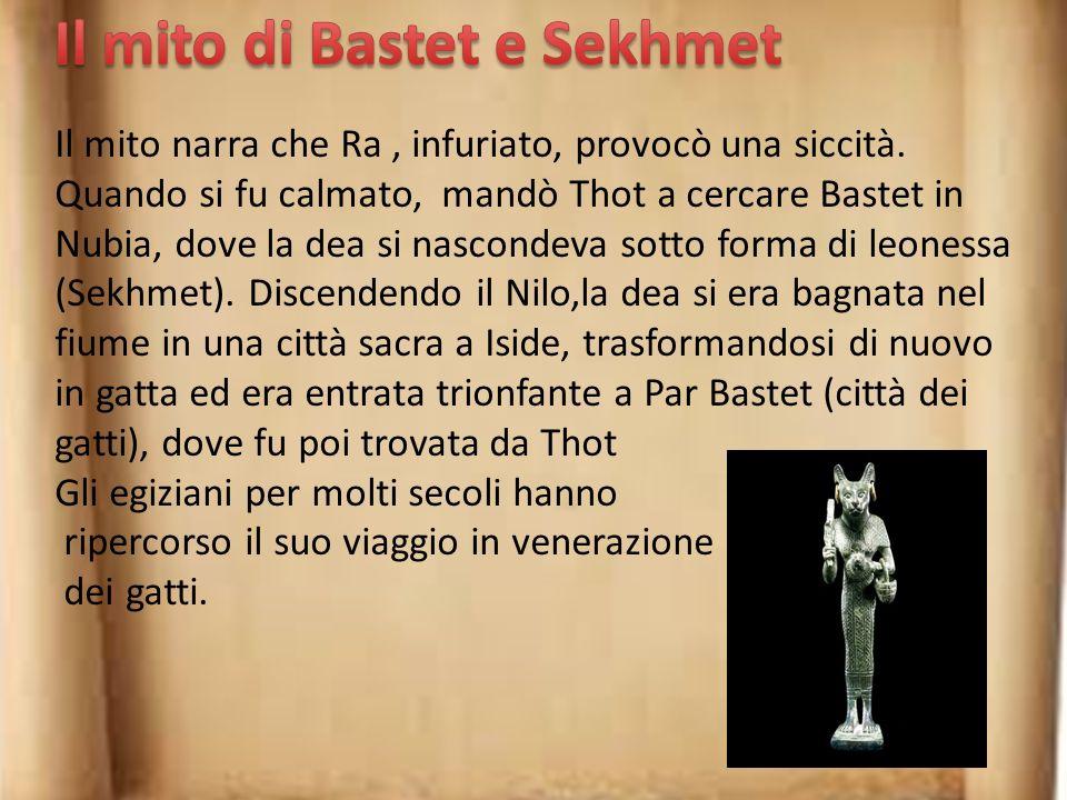 Il mito di Bastet e Sekhmet