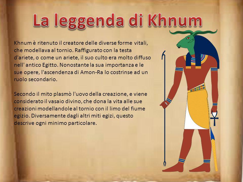 La leggenda di Khnum