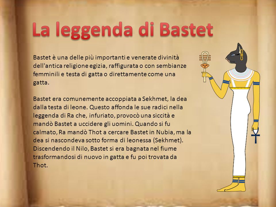 La leggenda di Bastet