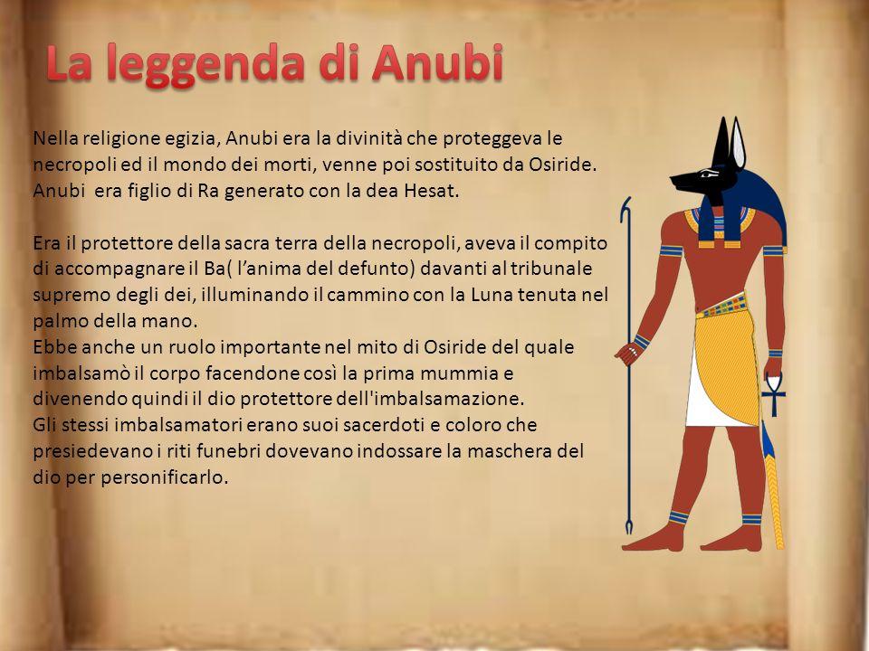 La leggenda di Anubi