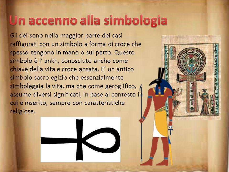 Un accenno alla simbologia