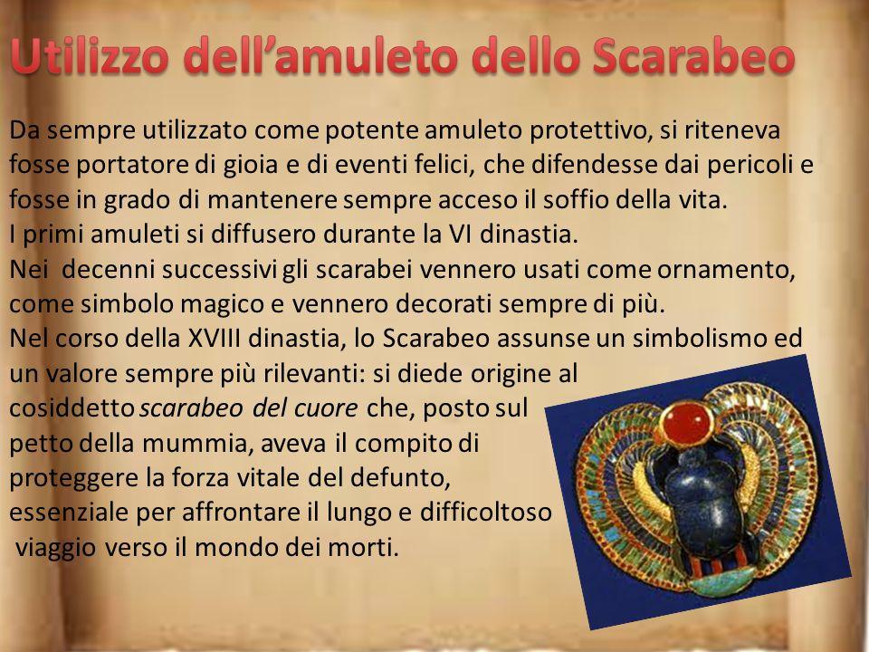 Utilizzo dell'amuleto dello Scarabeo