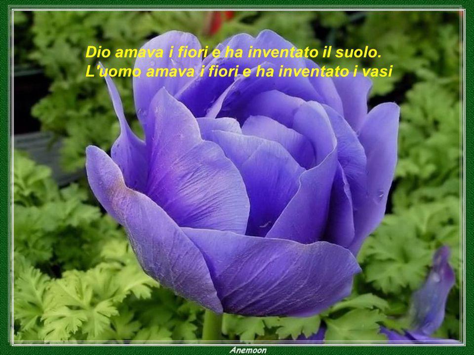 Dio amava i fiori e ha inventato il suolo
