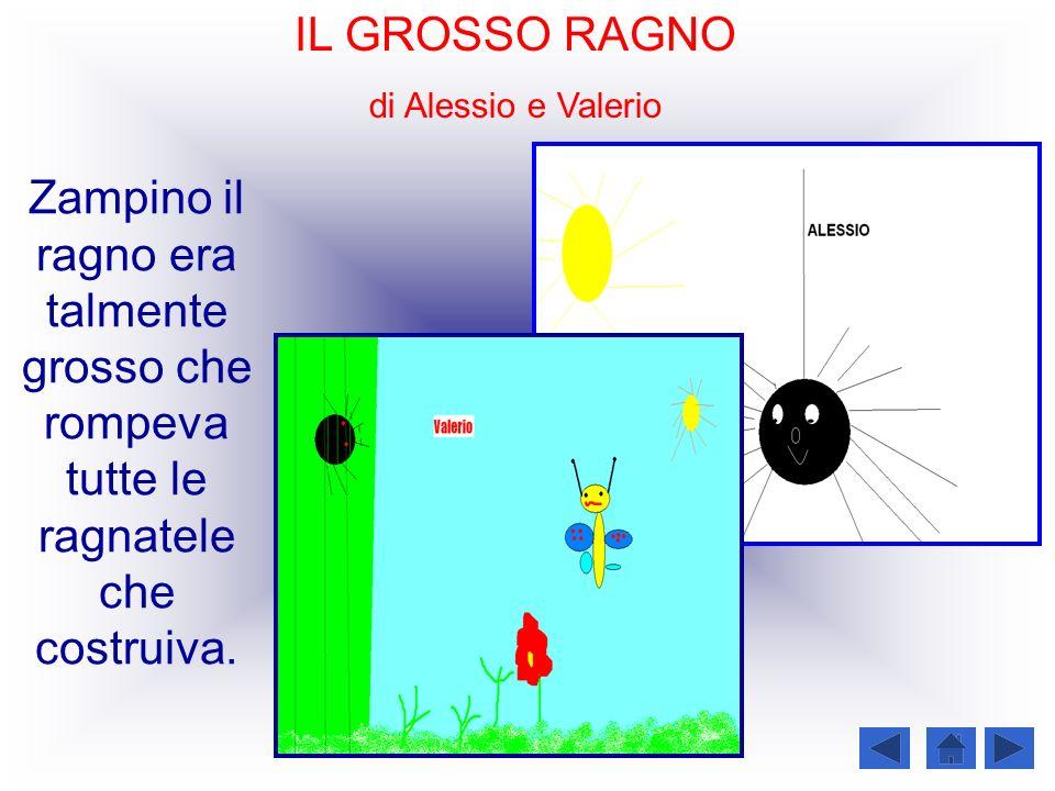 IL GROSSO RAGNO di Alessio e Valerio.