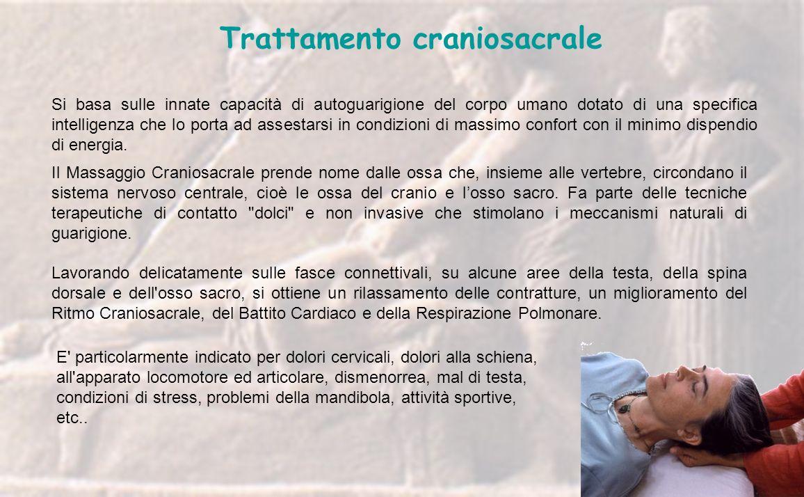 Trattamento craniosacrale