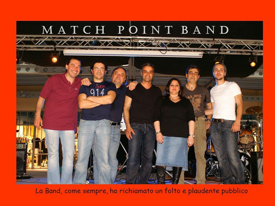 La Band, come sempre, ha richiamato un folto e plaudente pubblico