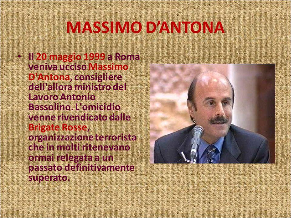 MASSIMO D'ANTONA