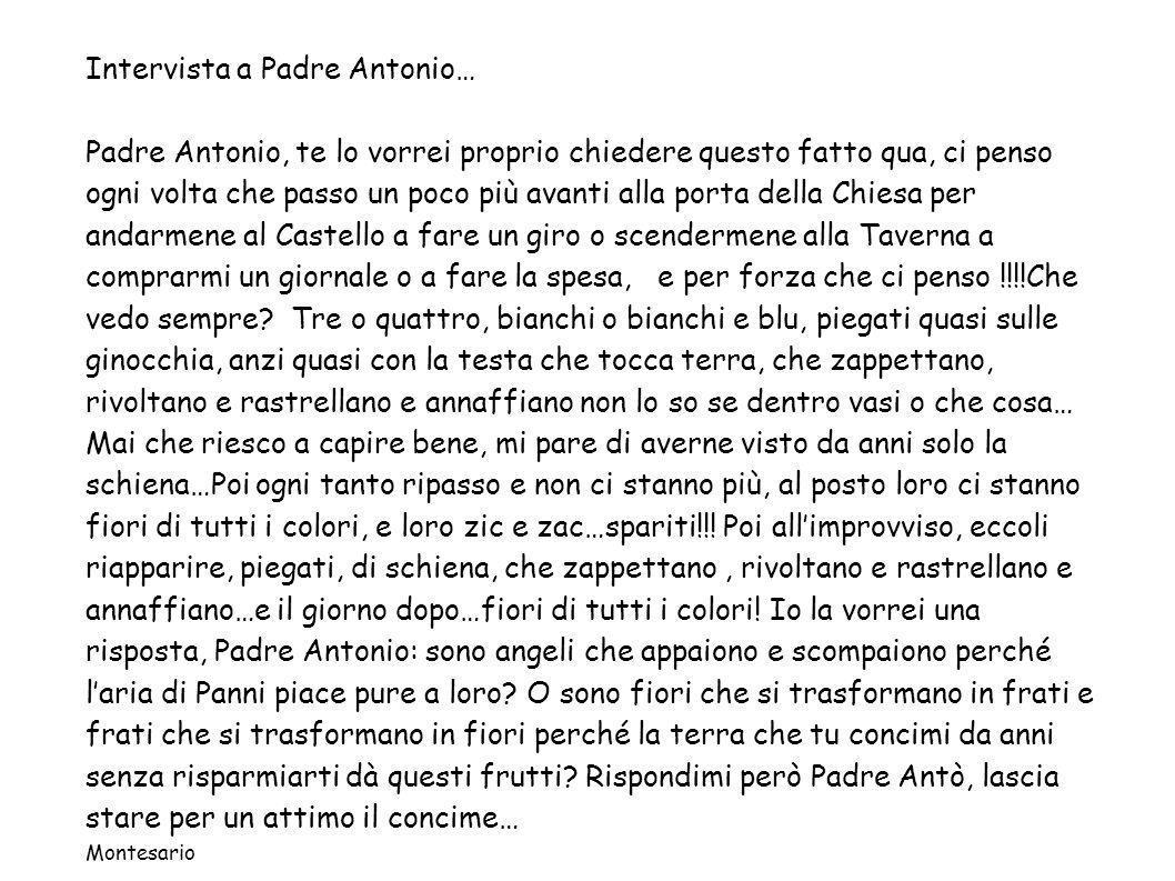 Intervista a Padre Antonio…