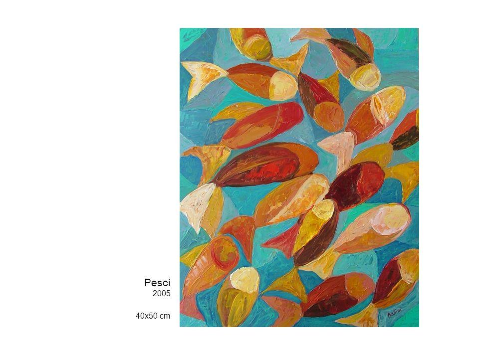 Pesci 2005 40x50 cm