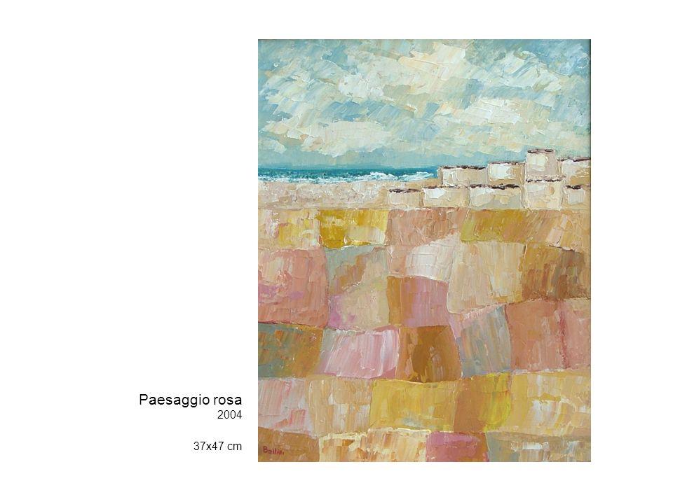 Paesaggio rosa 2004 37x47 cm