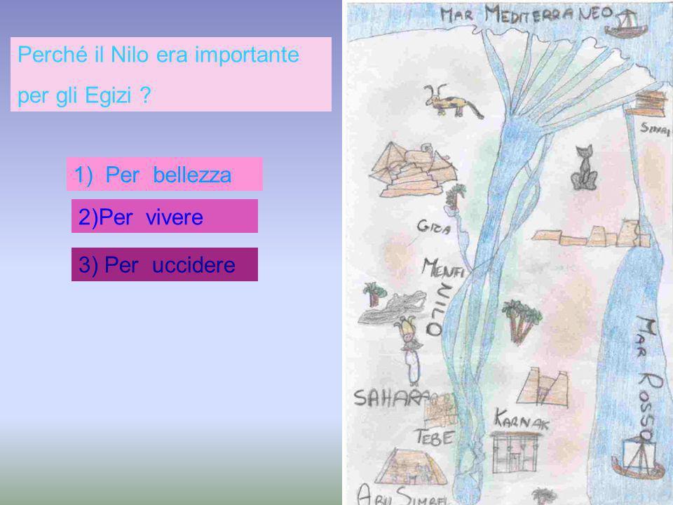 Perché il Nilo era importante