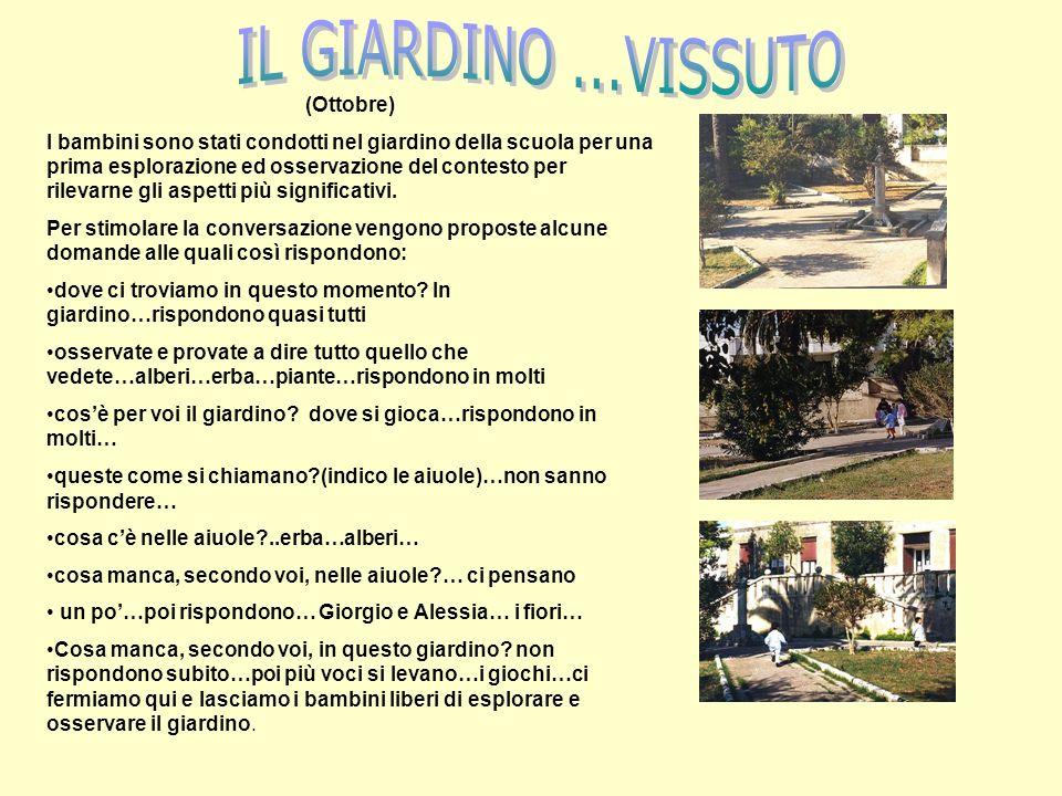IL GIARDINO ...VISSUTO (Ottobre)