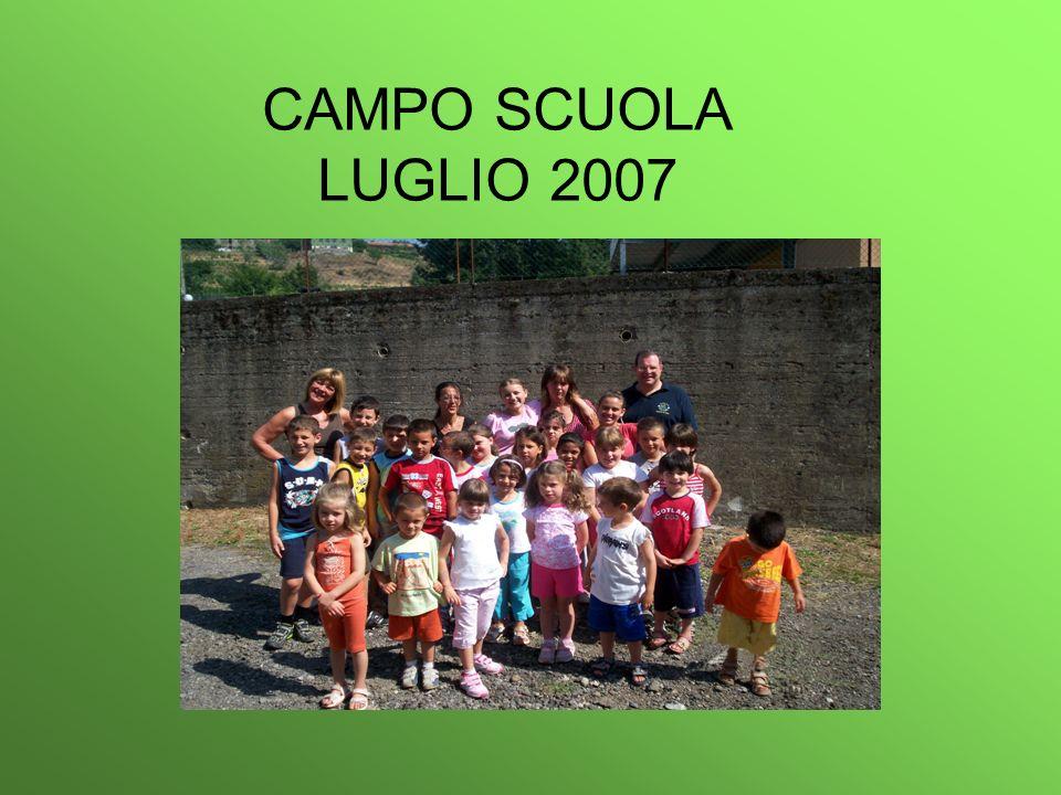 CAMPO SCUOLA LUGLIO 2007