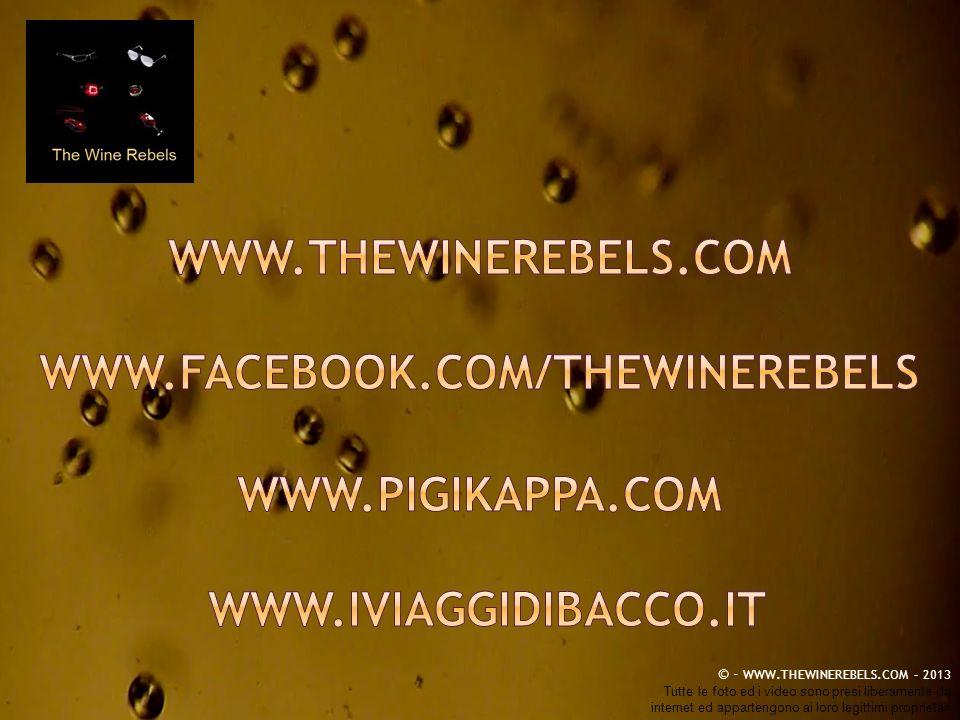 WWW.THEWINEREBELS.COM www.facebook.com/thewinerebels www.pigikappa.com www.iviaggidibacco.it